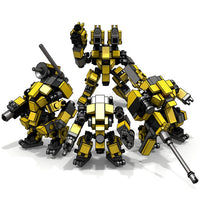 Mini Mecha Building Block Toy - Assault Team Set