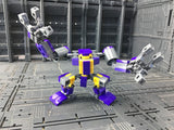 Mini Mecha Building Block Toy - Factory Security Team Set