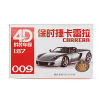 4D Model 16pcs 1:87 HO Car Model Collection