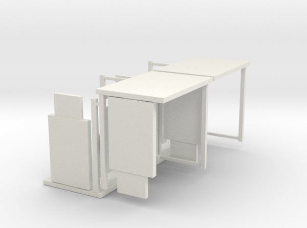 1:76th Bus shelter (type 3) 4 pack