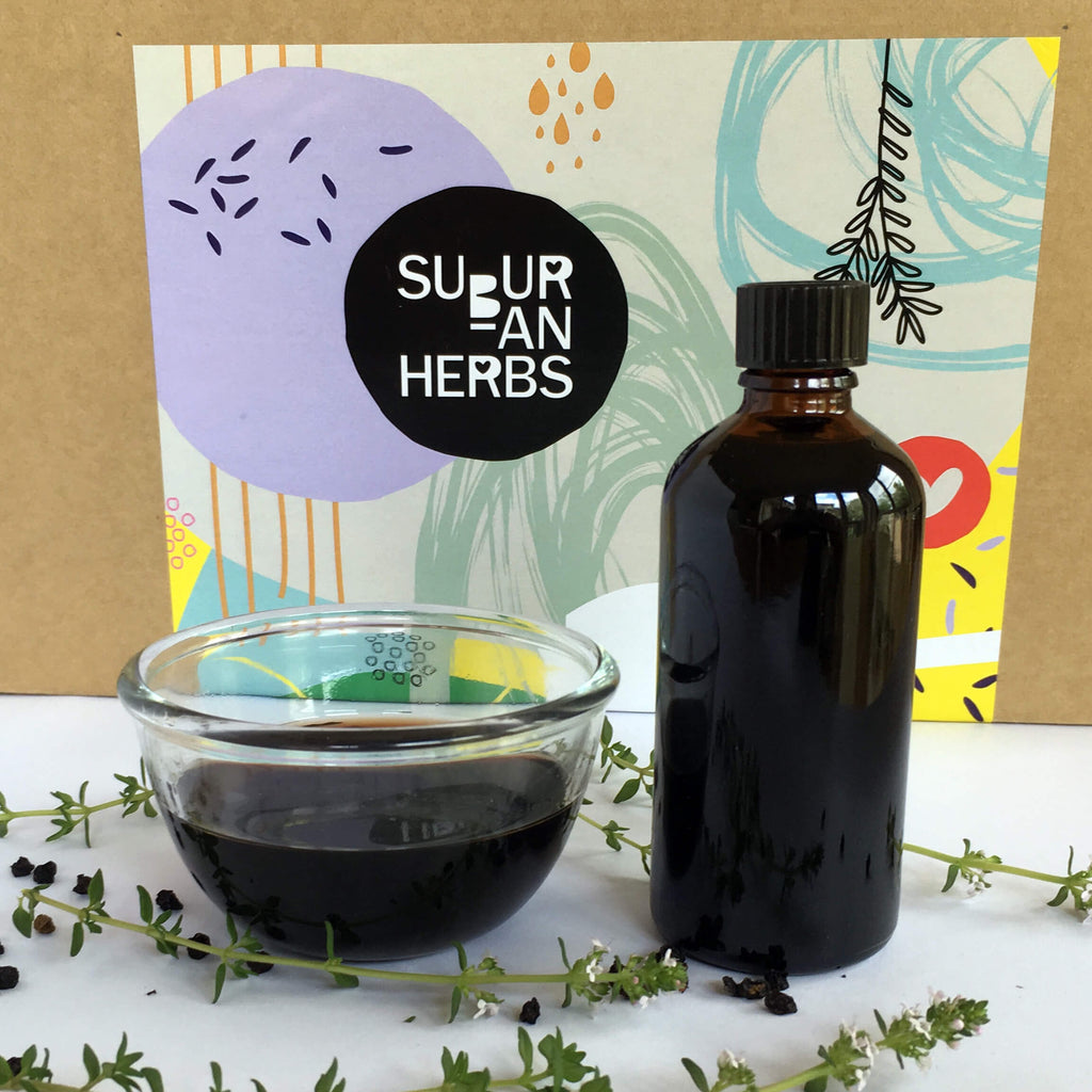 DIY Elderberry Syrup Kit Herbal Remedy for Cold and Flu