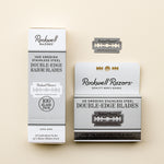 Load image into Gallery viewer, Rockwell double edge razor blades for zero waste razor blade