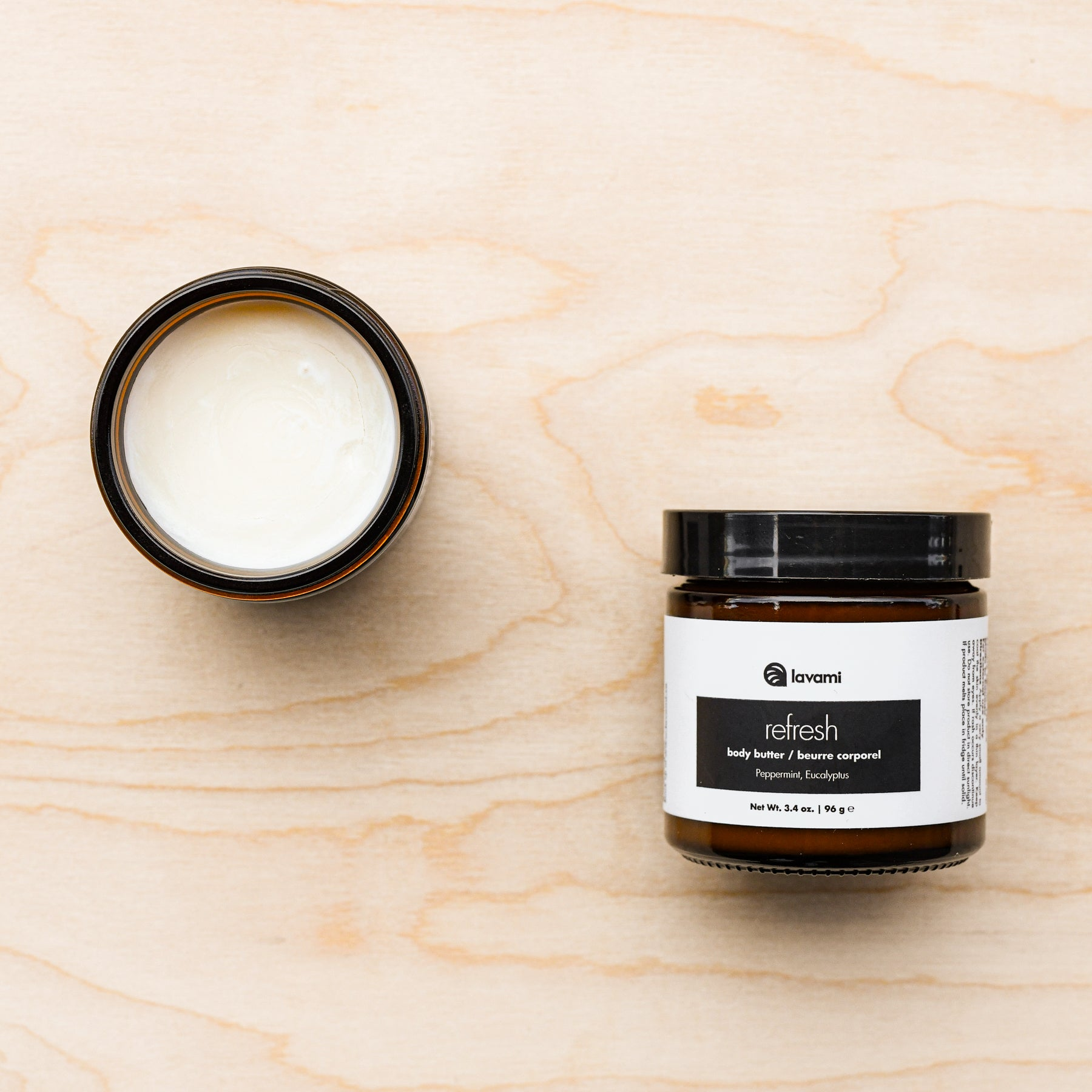 natural zero waste body butter by Lavami
