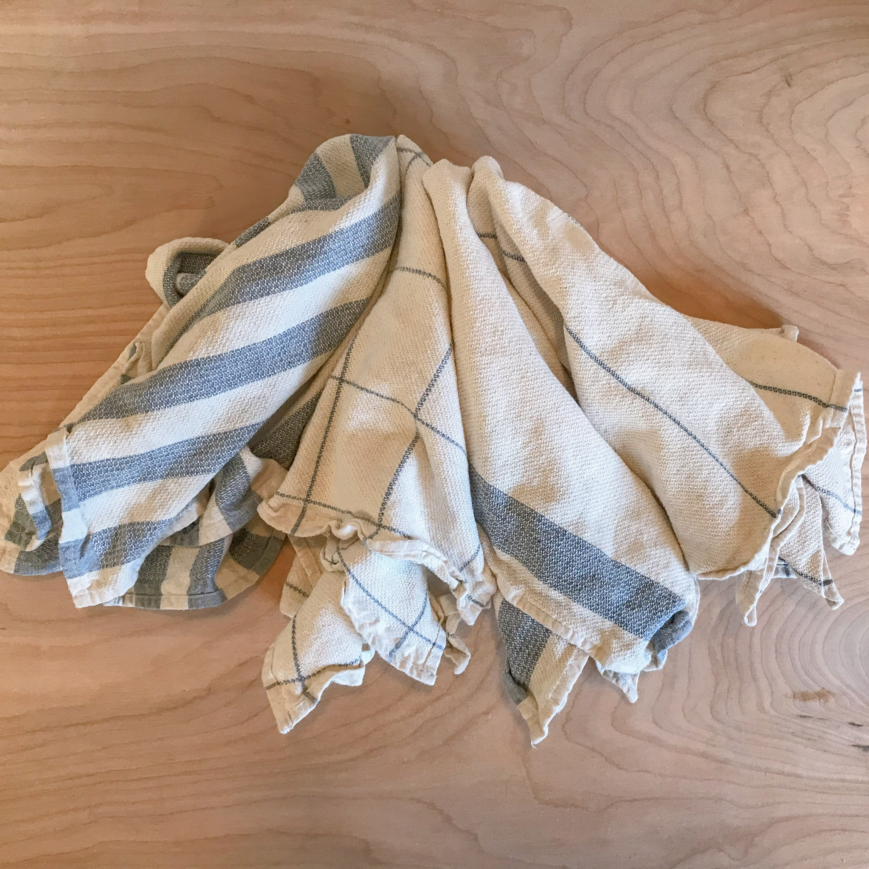 Recycled Cotton Kitchen Towels
