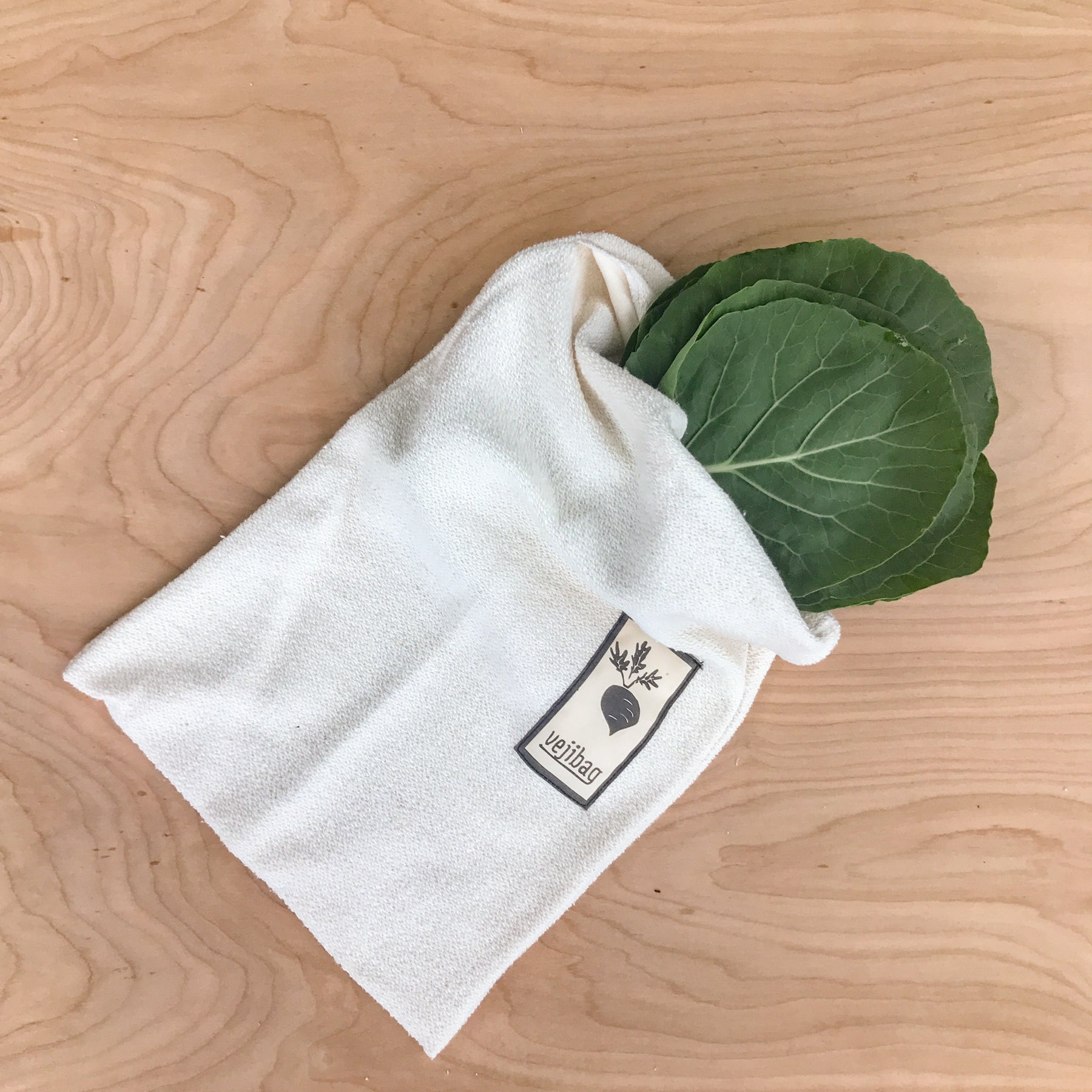 veji plastic free produce bag zero waste in small, medium, and large