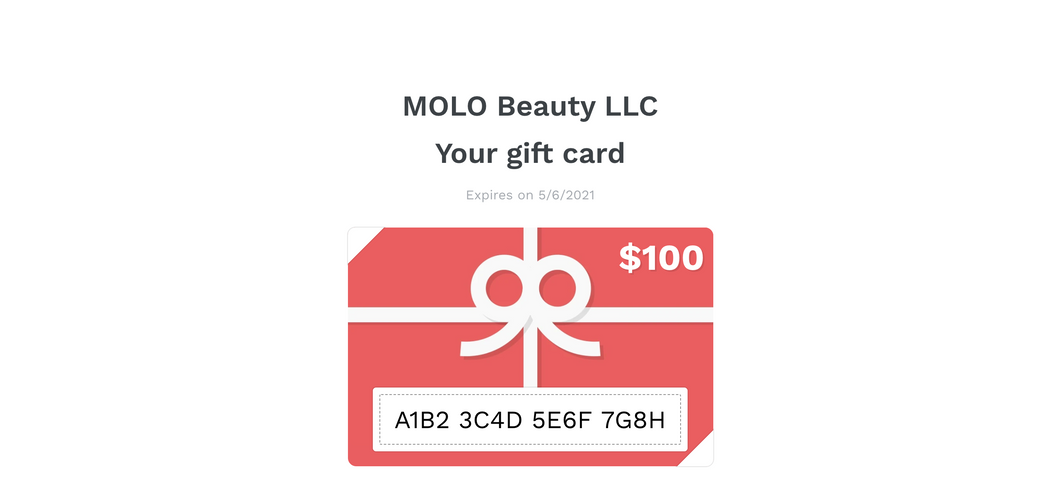 MOLO eGift Card