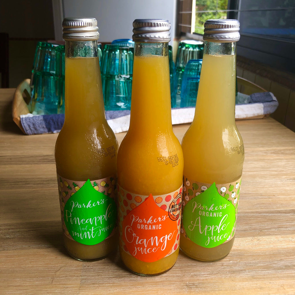Organic Bottled Juices