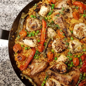 Chicken Paella on Pan (12 to 15 pax)