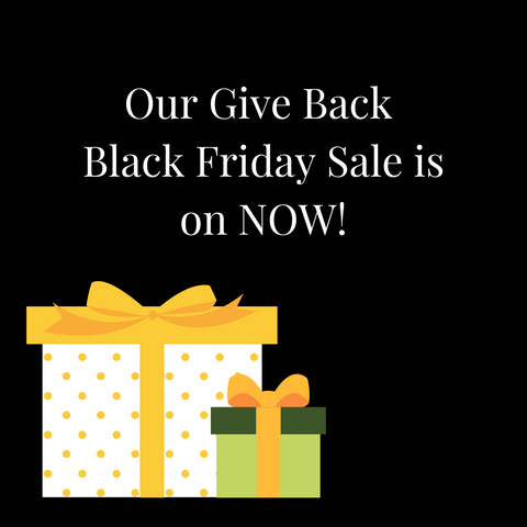 Black friday sale is happening now