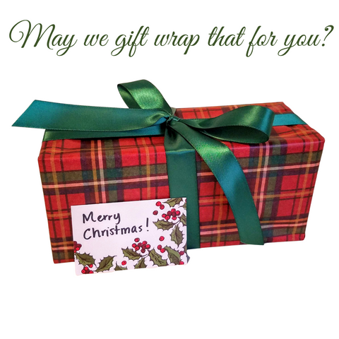 May we gift wrap that for you?