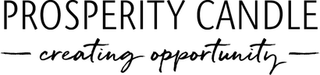 "Prosperity Candle ""creating opportunity"" logo"