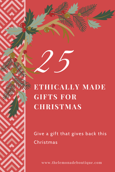 25 ethically made gifts for christmas