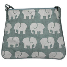 Load image into Gallery viewer, Little Elephant Canvas Crossbody Bag in Gray