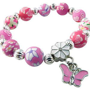 Girl's Polymer Clay Bracelets - Various Styles