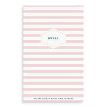 Load image into Gallery viewer, Dwell 30 Day Prayer Journal - Pink Stripe
