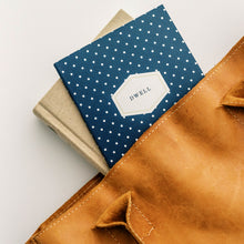Load image into Gallery viewer, Dwell 30 Day Prayer Journal - Navy Dot