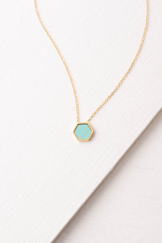 Isabel Turquoise Pendant Necklace