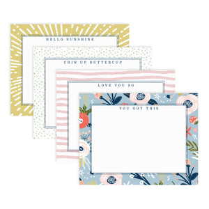UPLIFT Boxed Note Cards Stationery Set of 8