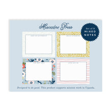 Load image into Gallery viewer, UPLIFT Boxed Note Cards Stationery Set of 8