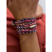 Load image into Gallery viewer, The Boho Twist - Multi-color Wrist & Hair Accessory