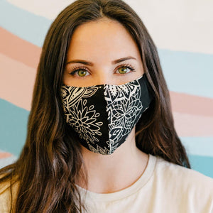 Reusable Fabric Face Masks - 2 Layers