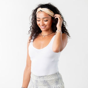 Printed Twist Headband
