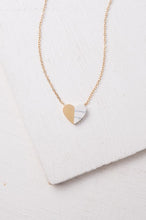 Load image into Gallery viewer, Alexis Gold Heart Necklace