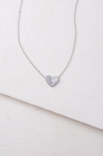 Load image into Gallery viewer, Alexis Silver Heart Necklace