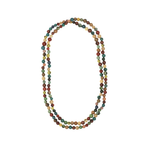 Baya Acai Bead Necklace
