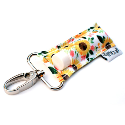 LippyClip® The Original Lip Balm Holder -  Sunflowers