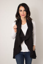 Load image into Gallery viewer, Black Circle Wrap Vest