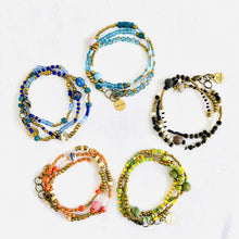 Load image into Gallery viewer, Stacker Bracelets 5 Pack - Various Colors