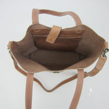 Load image into Gallery viewer, The Siiqqee Large Tote Bag in Dusty Rose