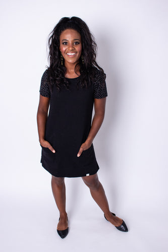 Black Jumper Dress
