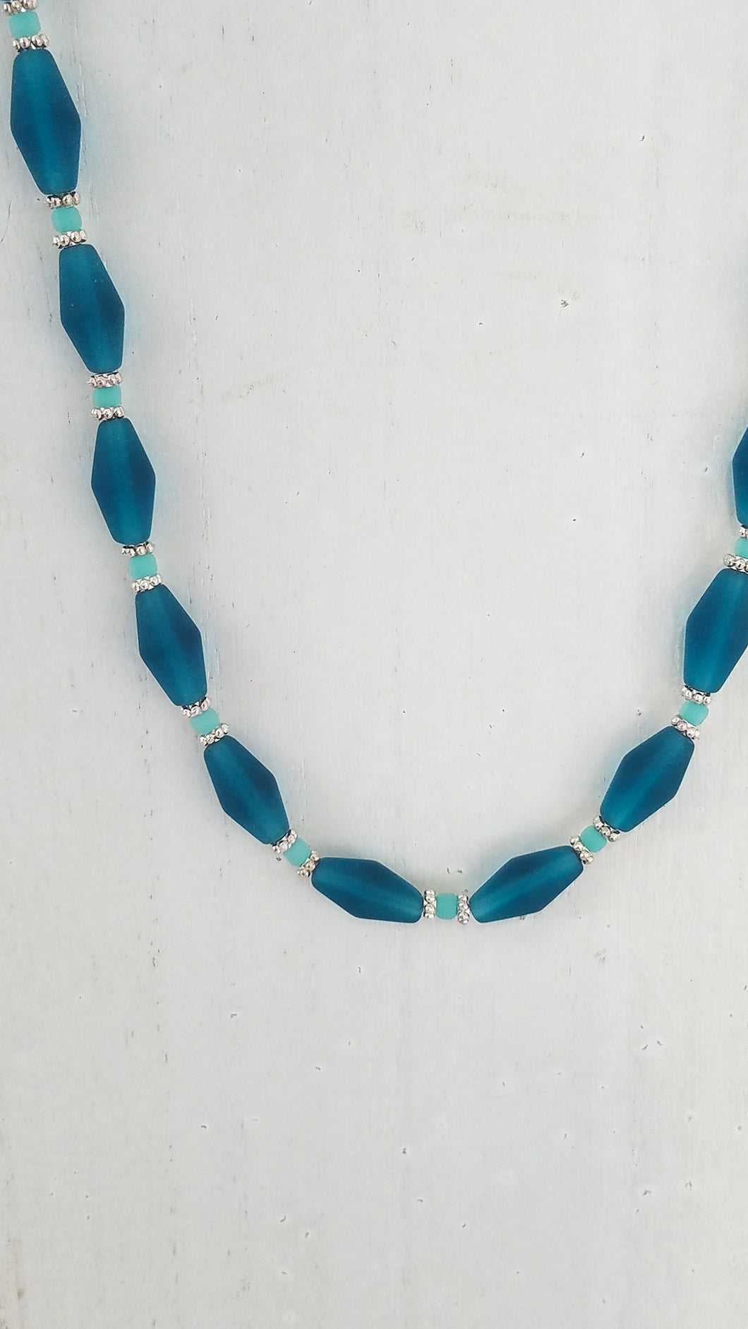 Recycled Beach Glass Necklace