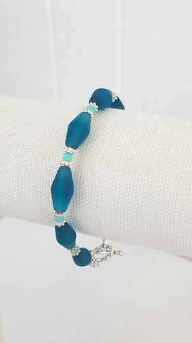 Recycled Beach Glass Bracelet