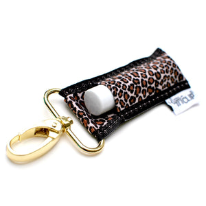 LippyClip® The Original Lip Balm Holder -  Leopard