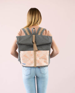 Adeline Roll Top Backpack Bag