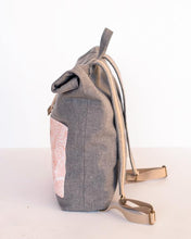 Load image into Gallery viewer, Adeline Roll Top Backpack Bag