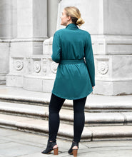 Load image into Gallery viewer, Albright Cardigan in Teal Ocean