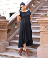 Load image into Gallery viewer, The Erica Swing Dress in Black