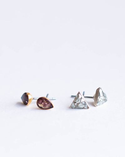 Elizabeth Stud Earrings - Two Pairs