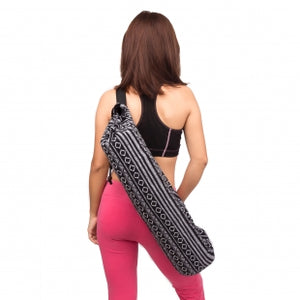 Yoga Mat Bag with Adjustable Strap and Drawstring