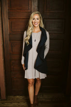 Load image into Gallery viewer, Navy Circle Wrap Vest