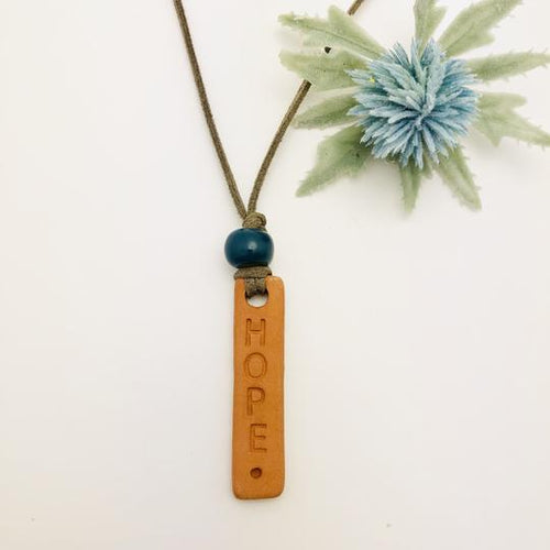 The Hope Essential Oil Diffuser Necklace