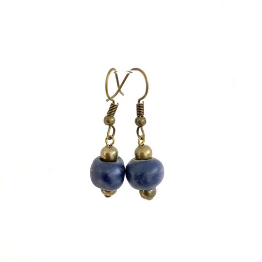 Simple Ceramic Drop Earrings - Various Colors