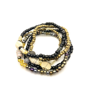 Stacker Bracelets 5 Pack - Various Colors