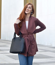 Load image into Gallery viewer, Albright Cardigan in Brunette