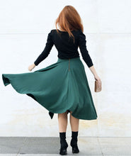 Load image into Gallery viewer, Malala Midi Skirt in Pine