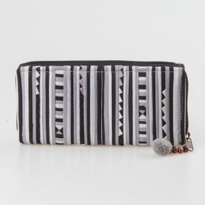 Lisu Fabric Zipper Wallet